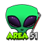 Minecraft Server icon for Area51 Towny Server