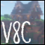 Minecraft Server icon for v8c.net