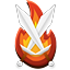 Minecraft Server icon for FlameBurst