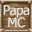 Minecraft Server icon for PapasMC