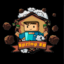 Minecraft Server icon for Spring Skyblock