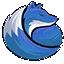 Minecraft Server icon for BlueFoxMC