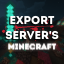 Minecraft Server icon for Export Servers