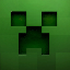 Minecraft Server icon for Creeper Town