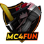 Minecraft Server icon for MC4FUN