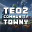 Minecraft Server icon for TeOz Community Towny