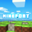 Minecraft Server icon for boys only land