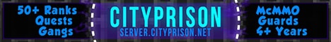 CityPrison ★ [Drugs] ★ [Ranks] ★ [McMMO] ★ [Economy] ★