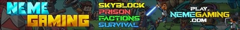 ⚡SKYBLOCK AND SURVIVAL JUST RESET!⚡ NEMEGAMING