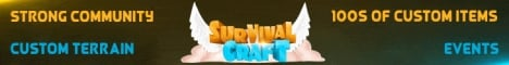 SurvivalCraft [1.12] Custom map - SlimeFun - mcMMO